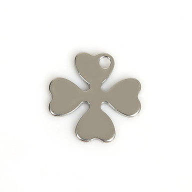 Charms Metall Leaf Shape som bilde 50Pcs