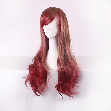 Damen Synthetische Perücken Natürlich gewellt Gefärbte Haarspitzen (Ombré Hair) Kostümperücke