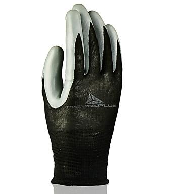 gants absorbants solides dérapant de revêtement de nitrile du travail delta® usure travail respirante confort