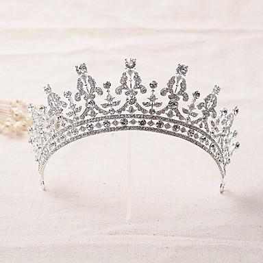 Strass / Liga Tiaras / Headbands / Decoração de Cabelo com Floral 1pç Casamento / Ocasião Especial Capacete