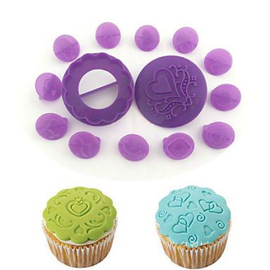 Dekorierwerkzeug Chocolate Obstkuchen Cupcake Kuchen Kunststoff Umweltfreundlich Heimwerken Gute Qualität