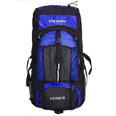 60 L Laptop Pack Ryggseker til dagsturer Reiseorganisator ryggsekk Ryggsekk Klatring Sykling / Sykkel Camping & Fjellvandring Vanntett