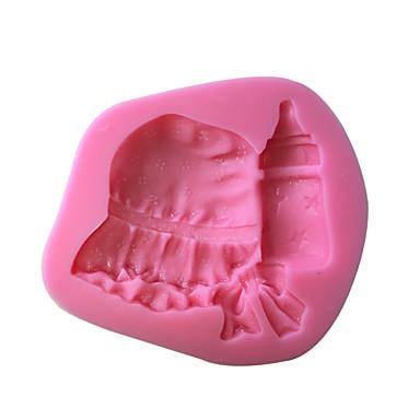 Bageværktøj Plast kage Udsmykning / 3D Kage Cake Moulds 1pc