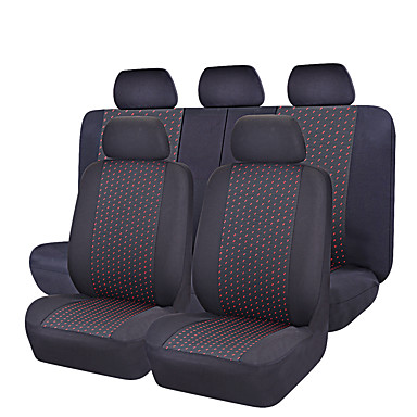 CARPASS Car Seat Covers Seat Covers Gray / Red / Blue Textile Common For universal
