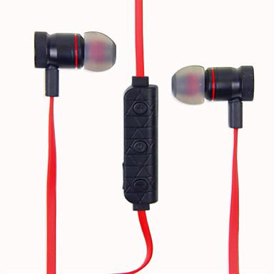 M9 En el oido Sin Cable Auriculares Dinámica Aluminum Alloy Deporte y Fitness Auricular Atracción del imán / Con control de volumen / Con