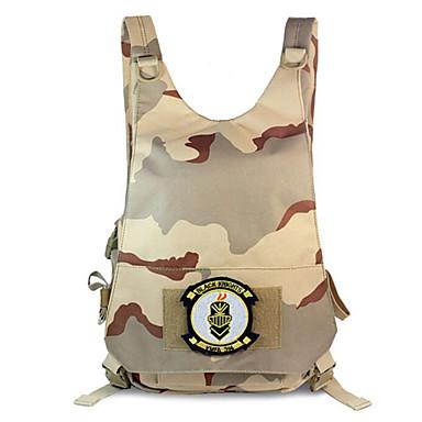 15 L sac à dos Camping & Randonnée Extérieur Etanche Jaune claire Nylon