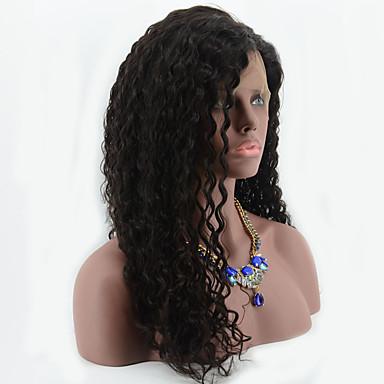 Cheveux humains Full Lace Perruque Droit 130% 150% Densité 100 % Tissée Main Perruque afro-américaine Ligne de Cheveux Naturelle Court