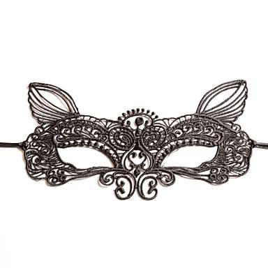 Spitze Kopfbedeckung Masken with Blumig 1pc Hochzeit Besondere Anlässe Kopfschmuck