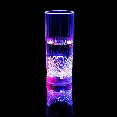 1 stk fargerike farge kreativ pub KTV ledet lampe nattlys ledet drinkware
