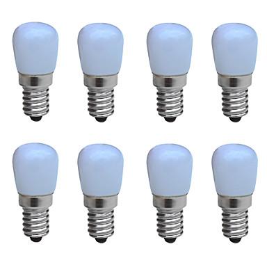 JIAWEN 8St 1W 100-150lm E14 LED Kerzen-Glühbirnen B 1 LED-Perlen COB Dekorativ Warmes Weiß Kühles Weiß 220-240V