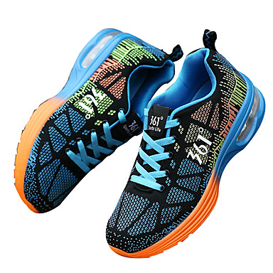361° MX-008-70 נעלי ריצה נעלי יומיום נעלי ריצה לכביש יוניסקס נגד החלקה מזרוני אויר חשמלית סוליה נמוכה עור רחיץ ריצה