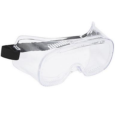 Huate 2701 gjennomsiktige beskyttelsesbriller laboratorium kjemiske vernebriller anti-vind støvbriller