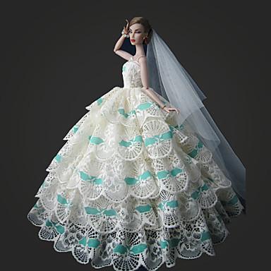 Bryllup Kjoler Til Barbiedukke Kjoler Til Jentas Dukke