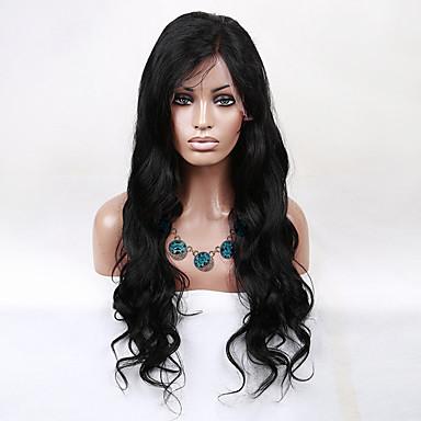 Cheveux humains Perruque en dentelle Bouclé Lace Front Sans Colle Lace Front 100 % Tissée Main Perruque afro-américaine Ligne de Cheveux
