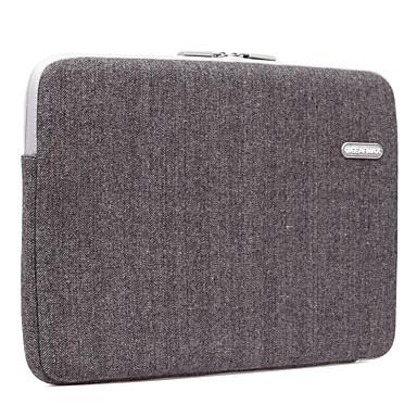 gearmax® 11inch / 12inch ordinateur portable manchon / sac de couleur unie noire