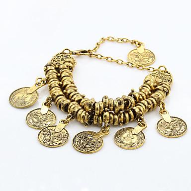 Dame Vedhend Armband Legering Mote Gull Sølv Smykker 1 stk