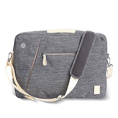 15inch oxford multifunksjons laptop bag / case reiseryggsekk blå / grå