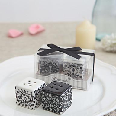 חתונה / יוֹם הַשָׁנָה / מסיבת רווקות קרמי כלי מטבח נושא קלאסי - 2 pcs
