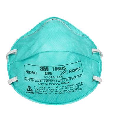 3m-1860 PM2.5 crianças máscaras antivírus anti-nevoeiro e neblina máscaras