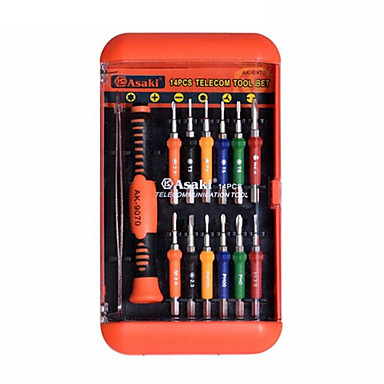 kaisi® 17 skruen skrutrekkersett demonter batch telekommunikasjon maskinvare håndverktøy