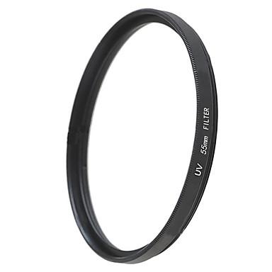 emoblitz 55mm uv ultrafiolett beskytter objektivet filter svart