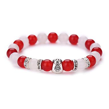 Bracelets de rive Rétro Mode Adorable Agate Gemme Alliage Forme Géométrique Bijoux Soirée Quotidien Décontracté
