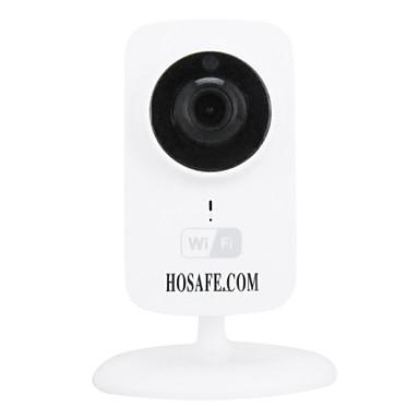 hosafe langaton IP-kamera, jossa P2P / kaksisuuntainen audio / hämäränäön / tuki 64g Micro SD tallennus 30 päivää