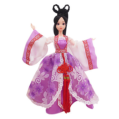 preiswerte Puppen-Puppenkleidung Mädchen Puppe Kostüm Rock Kunststoff Baby Mädchen Spielzeuge Geschenk
