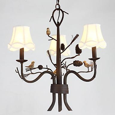 Moderne/Contemporain Style mini Lustre Lumière dirigée vers le haut Pour Salle de séjour Chambre à coucher Salle à manger Bureau/Bureau
