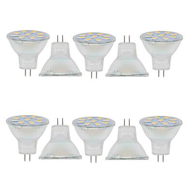 2W 150-200 lm GU4(MR11) Dekorations Lys MR11 9 leds SMD 5730 Dekorativ Varm hvit Kjølig hvit 9-30