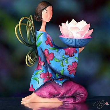 lotus ange heureux nightlight