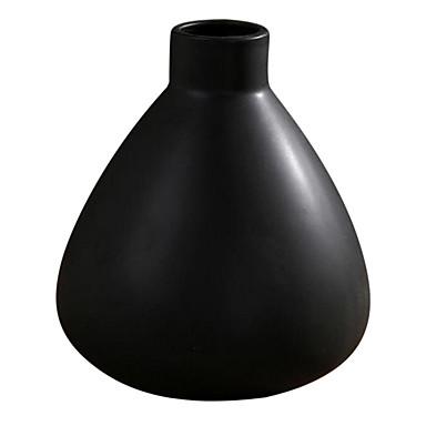 בסגנון מודרני קישוט בית אגרטל חרס שחור