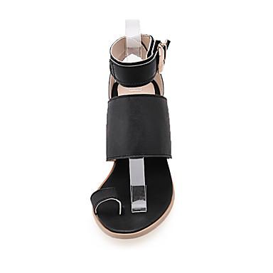Magique Bottier Sandales 05107127 Femme Bride Blanc Scotch Printemps de Bride Boucle Orteil Chaussures Cheville Talon Noir Polyuréthane Eté 1rAcTP6w1z