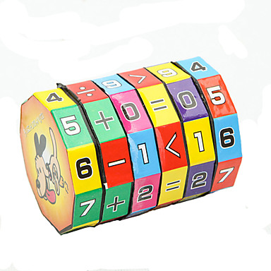 Jouets Educatifs Mathématiques Jouet Educatif Jouets Economique Cylindrique Plastique Classique Pièces Enfant Cadeau
