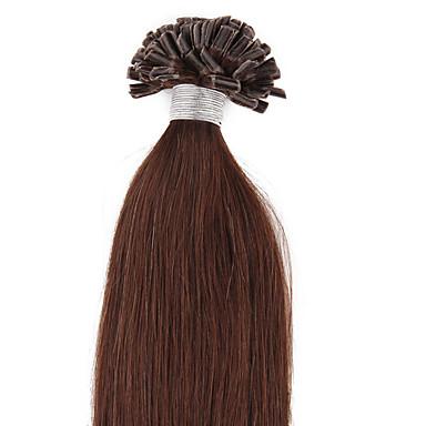 Fusjon / U-tipp Hairextensions med menneskehår Hår extension