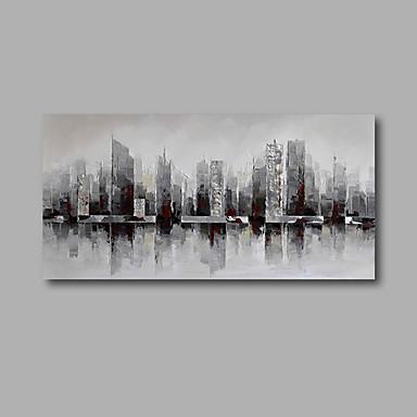 Handgemalte Landschaft Horizontal, Modern Segeltuch Hang-Ölgemälde Haus Dekoration Ein Panel