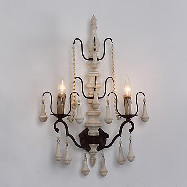 Rústico/Campestre Luminárias de parede Para Metal Luz de parede 220V 110V 40WW