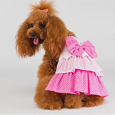 Katze Hund Kleider Hundekleidung Geburtstag Rosa Kostüm Für Haustiere