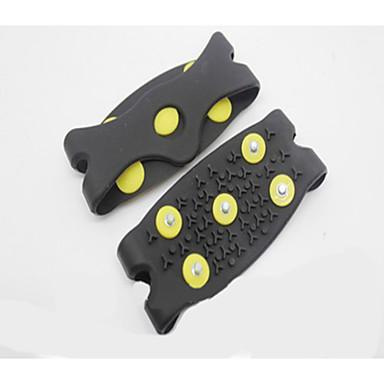 cinq crampons à ongles de couvre-chaussures antidérapants