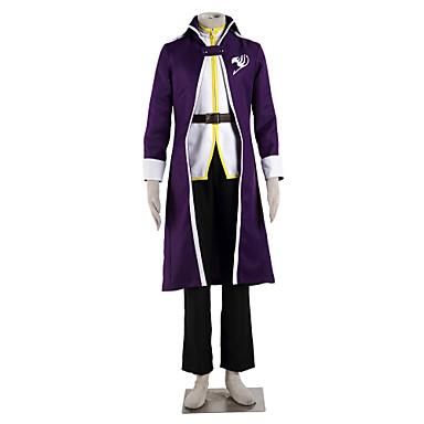 קיבל השראה מ סיפור אגדה אפור  Fullbuster אנימה תחפושות קוספליי חליפות קוספליי קולור בלוק שרוול ארוך מעיל עליון מכנסיים חגורה עבור זכר