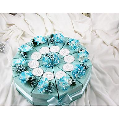 Zylinder Kartonpapier Geschenke Halter mit Schleife / Bänder / Blume Geschenkboxen