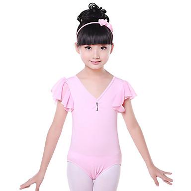 Devemos crianças treinar roupas de dança infantil de 1 peça