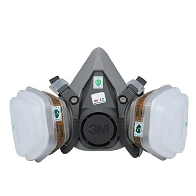 3m6200 máscara de gás máscara anti tinta spray anti máscara tóxico poeira especial carvão ativado química máscara de protecção