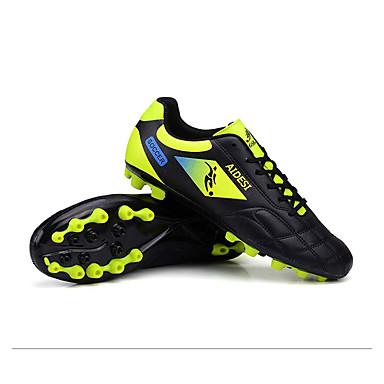 billige Fotballsko-Ailema® Herre joggesko / Fotball klossene / fotball Boots Fotball Pustende, Anti-Skli, Demping Gul+Blå / Svart / Rød / Grønn / Svart
