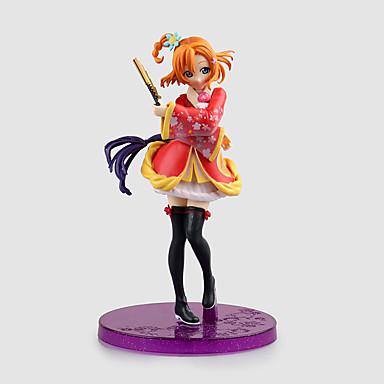 Figuras de Ação Anime Inspirado por Amar viver Honoka Kōsaka PVC 17 CM modelo Brinquedos Boneca de Brinquedo