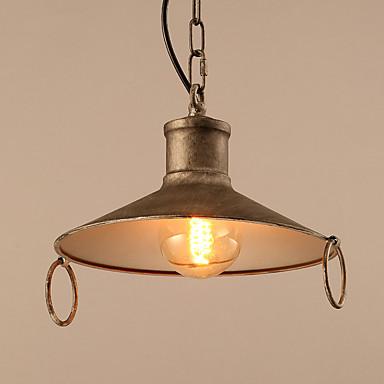 Luzes Pingente ,  Contemprâneo Tradicional/Clássico Retro Pintura Característica for Estilo Mini MetalSala de Estar Quarto Sala de Jantar