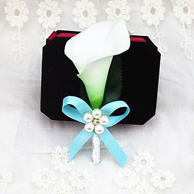 פרחי חתונה פרחי דש חתונה מסיבה\אירוע ערב מֶשִׁי 4.72