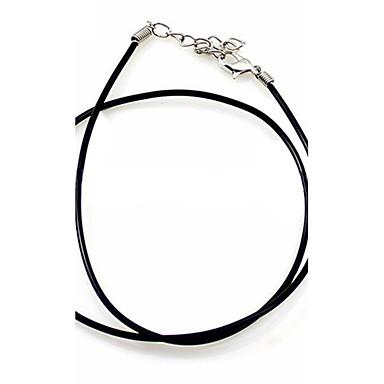 שרשראות תליון שרשרת שרשראות הצהרה ניילון אופנתי גילוי תכשיטים שחור תכשיטים יומי קזו'אל 1pc