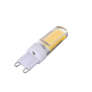 G9 LED à Double Broches T 1 diodes électroluminescentes COB Intensité Réglable Décorative Blanc Chaud Blanc Froid 200-300lm 3000/6000K AC