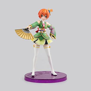 נתוני פעילות אנימה קיבל השראה מ אוהב את חיים Rin Hoshizora PVC 17 CM צעצועי דגם בובת צעצוע